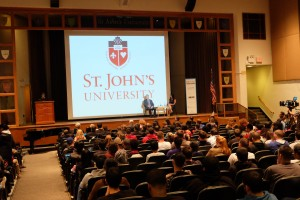 Richard and Emily, Shut Out Trafficking at St. John's University